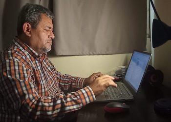 Iván Olivares, periodista nicaragüense que labora para Confidencial. Foto: Cortesía