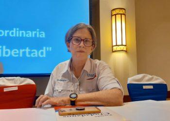 Dictadura cancela pasaporte a Kitty Monterrey, pero no dice si la deportarán. Foto: Artículo 66 / Noel Miranda