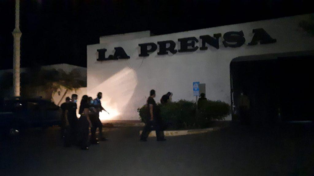 Régimen intenta vender supuesto «acaparamiento de papel» en La Prensa para montarle acusación. Foto: Artículo 66/ Noel Miranda