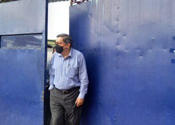 Exdiplomático Mauricio Díaz cumple 10 días preso sin recibir atención médica. Foto: Artículo 66 / Noel Miranda