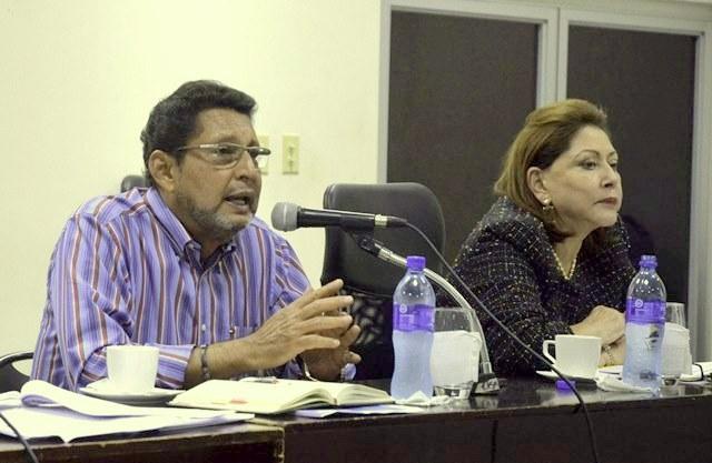 Alba Luz Ramos y Bayardo Arce se estrenan en sanciones de la Unión Europea¨. Foto: Internet.
