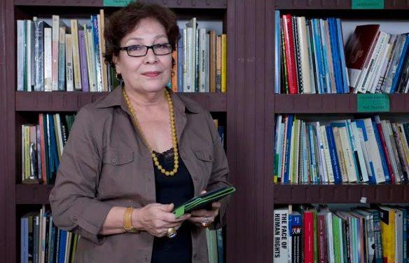 Fiscalía interroga a la periodista, feminista y opositora Sofía Montenegro por el caso de la Fundación Violeta Barrios. Foto: Internet.