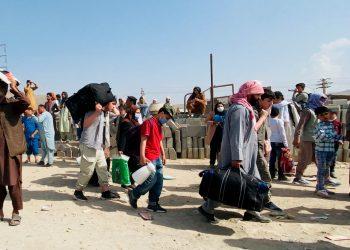 Airbnb alojará sin pago a 20.000 afganos refugiados por todo el mundo. Foto: EFE.