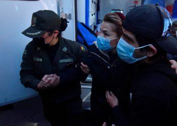 Gobierno de Bolivia dice que la expresidenta Áñez «intentó lesionarse» en prisión. Foto: EFE.