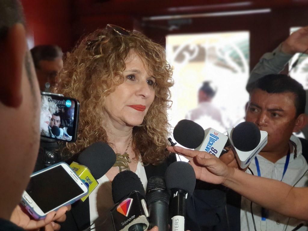 Gioconda Belli preocupada por fuga de capital humano de Nicaragua. Foto: A. Navarro / Artículo 66.