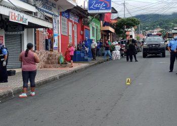 Asalto y balacera en Matagalpa deja un muerto y un herido. Foto: Notimatv.