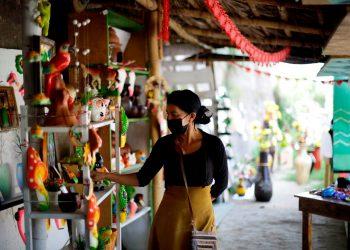 COVID-19 provoca fuerte caída de ingresos en las mipymes de Centroamérica. Foto: EFE.