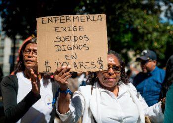 Venezuela registró 671 protestas callejeras en julio, según ONG. Foto: EFE.