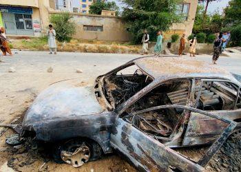 Estado Islámico reivindica el lanzamiento de seis cohetes en Kabul. Foto: EFE.