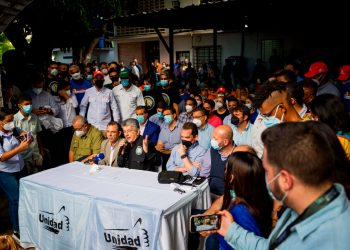 Oposición venezolana participará en los comicios regionales y locales de noviembre. Foto: EFE.