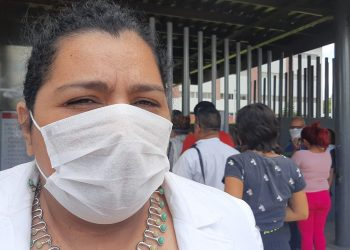 Defensora de presos políticos denuncia amenazas de simpatizantes sandinistas y asedio policial. Foto: La Prensa.