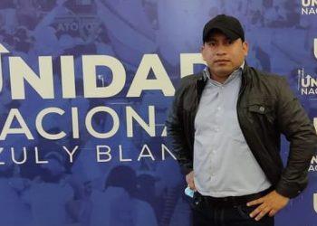 Alex Hernández es miembro del Consejo Político de la UNAB y destacado líder de Catarina. Foto: UNAB / Cortesía.