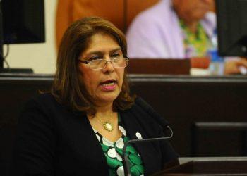 Ana Julia Guido, Fiscal General de la República y leal a la pareja dictatorial Ortega-Murillo. Foto: La Prensa.
