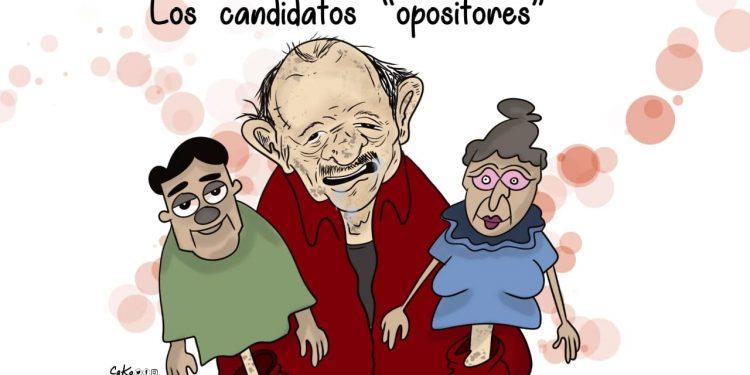 La Caricatura: Los candidatos «opositores»
