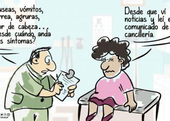La Caricatura: Síntomas comunes