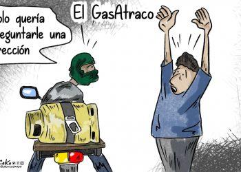 La Caricatura:  El GasAtraco