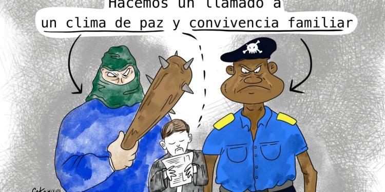 La Caricatura: El llamado con garrote