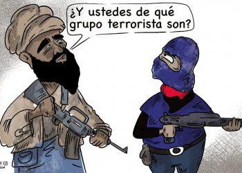 La Caricatura: Grupo terrorista