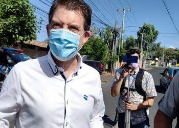 Juan Lorenzo Holmann Chamorro también fue citado a la Fiscalía dias antes de el allanamiento a La Prensa. Foto: Noel Miranda / Artículo 66.