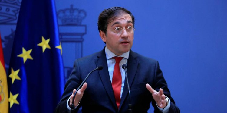 José Manuel Albares, ministro de Relaciones Exteriores de España. Foto: Gobierno de España