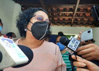 Partric Orozco a su salida de la Fiscalía el pasado primero de junio. Foto: Noel Miranda / Artículo 66.