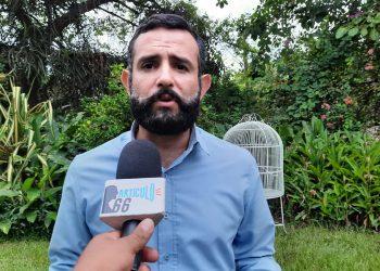 Róger Reyes fue detenido el viernes 20 de agosto a las 8:30 p.m. en managua. Foto: Noel Miranda / Artículo 66.