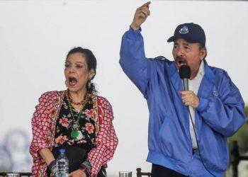 Daniel Ortega y Rosario Murillo mantienen clima de terror en Nicaragua. Foto: internet