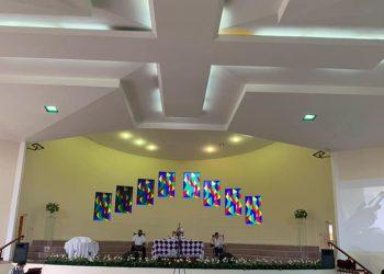 Primera Iglesia de Bautista suspende actividades por «incremento exponencial» de COVID-19. Foto: Cortesía