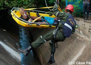 Nicaragua realiza simulacro de desastre con 1,3 millones de participantes