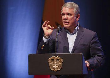 El presidente de Colombia, Iván Duque, en una fotografía de archivo. EFE/Juan Augusto Cardona
