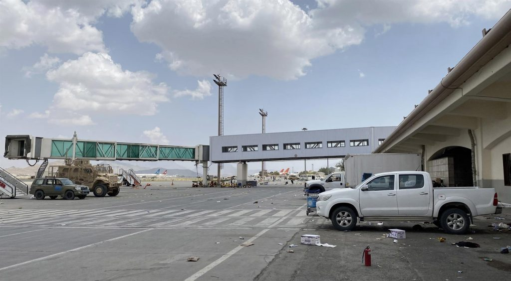 Aeropuerto de Kabul. EFE/EPA/STRINGER/Archivo