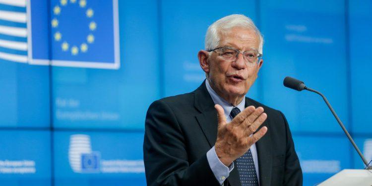 Josep Borrell, en una fotografía de archivo. EFE/EPA/STEPHANIE LECOCQ