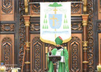 Monseñor Álvarez: «La iglesia siempre ha sido atacada por el demonio». Foto: Artículo 66 / Diócesis Media