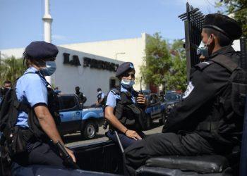 Reporteros sin Fronteras pide al régimen Ortega-Murillo que cese la «escandalosa» obstrucción a libertad de prensa. Foto: La Prensa.