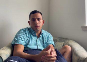 Ángel Rocha, integrante de la Alianza Cívica se exilia para salvar su vida. Foto: Captura de pantalla