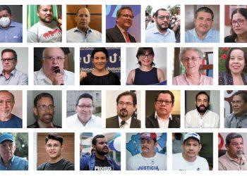 Presos políticos electorales de Nicaragua