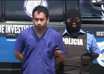Después de 10 días desaparecido, Policía deja ver a Alex Hernández en El Chipote. Foto: Archivo.