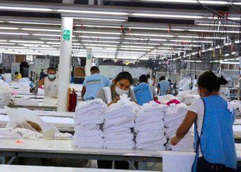 Exportaciones de zonas francas de Nicaragua subieron 48.3% entre enero y junio