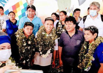 Cocaleros reeligen a Evo Morales como su líder y plantean otro juicio contra Áñez. Foto: Cortesía.