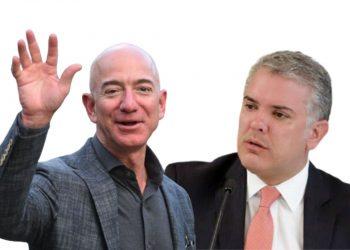 El presidente de Colombia se reunió en Washington con Jeff Bezos