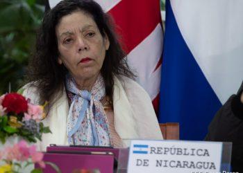 Rosario Murillo promueve actividades de aglomeración pero llama a no acercarse a lugares donde haya contagiados. Foto: Internet.