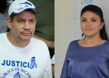 Envían a juicio político al dirigente campesino Pedro Mena y abogada María Oviedo.