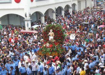 Iglesia San Bautista de Sutiava, León, cancela procesión de San Jerónimo por COVID-19. Foto: Archivo, END