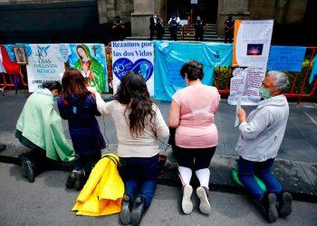 México despenaliza el aborto, en fallo histórico de la Suprema Corte de Justicia. Foto: EFE.