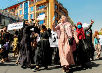La ONU denuncia una creciente represión de los talibanes a manifestantes pacíficos. Foto: EFE.