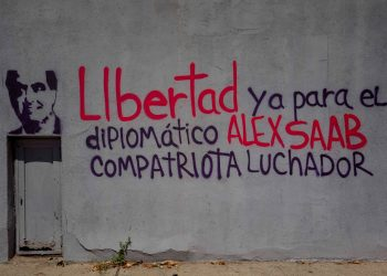 Nicolás Maduro «incorpora» al testaferro Alex Saab, preso en Cabo Verde, a comisión de diálogo. Foto: EFE.