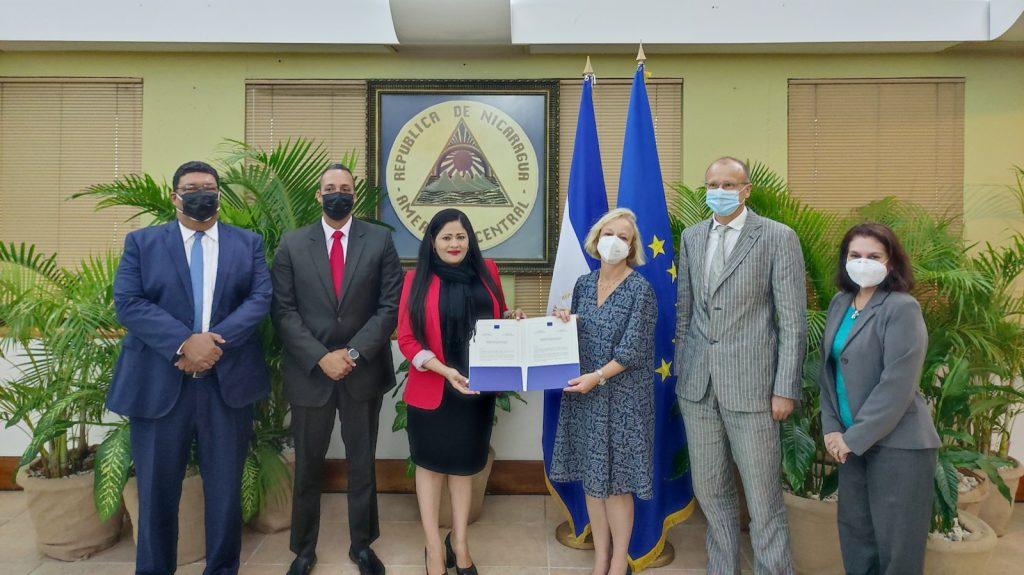 Bettina Muscheidt embajadora de la Unión Europea en Nicaragua. Foto/Cortesía