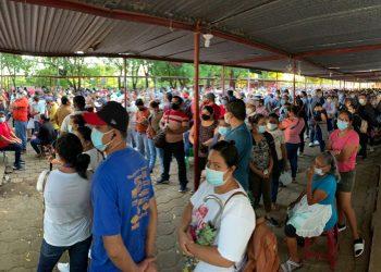 Jornada de vacunación COVID-19 Nicaragua. Foto. Artículo 66 / Noel Miranda