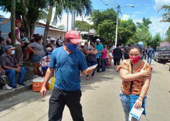 Jornada de vacunación en Nicaragua para mayores de 30 años. Foto: Artículo 66 / Noel Miranda
