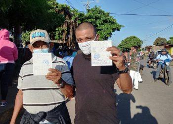 Jornada de vacunación en Managua. Foto: N. Pérez / Artículo 66